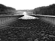 Trilha Railway fotografia de stock