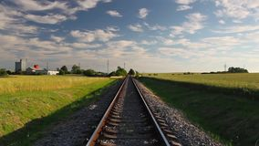 Trilha Railway video estoque