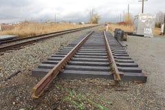 Trilha Railway secional imagem de stock royalty free