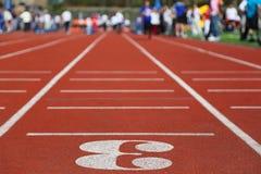 Trilha Running 3; perspectiva; Foto de Stock Royalty Free
