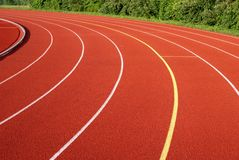 Trilha Running. Fotos de Stock