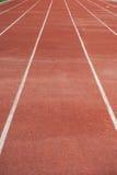 Trilha running da pista, pista Fotos de Stock Royalty Free