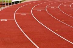 Trilha Running oval - círculo da parte externa Imagem de Stock Royalty Free