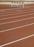 Trilha Running, saltando Imagem de Stock