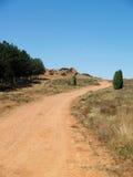Trilha rural Foto de Stock