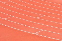 trilhas 4x100 atléticas Foto de Stock Royalty Free