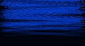 Trilhas azuis do pneu Imagens de Stock
