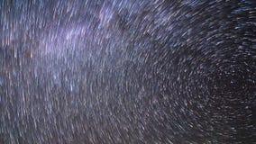 Trilhas da estrela Lapso de tempo 4K filme