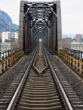 Ponte do trilho Fotografia de Stock Royalty Free