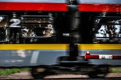 Trilhas de estrada de ferro, Polônia, Lodz Fotos de Stock