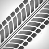 Trilhas do pneu Imagem de Stock