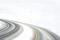 Trilhas do pneu Imagens de Stock Royalty Free