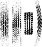 Trilhas do pneu de Grunge Imagem de Stock