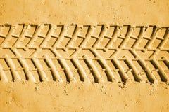 Trilhas do pneumático Imagem de Stock