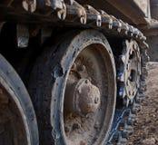 Trilhas do tanque Imagem de Stock