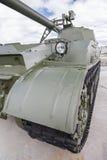 Trilhas do tanque Fotografia de Stock