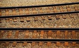 Trilhas do trem Imagens de Stock