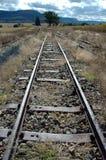 Trilhas oxidadas Imagem de Stock