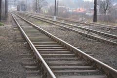 Trilhas para trens Imagens de Stock