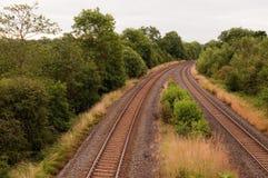 Trilhas Railway imagens de stock royalty free