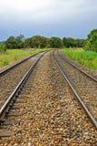 Trilhas Railway Fotografia de Stock Royalty Free