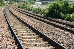 Trilhas Railway Imagem de Stock Royalty Free