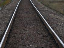 Trilhas railway vazias Fotografia de Stock