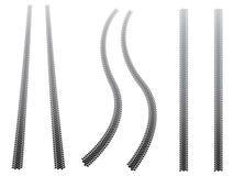 Trilhas robustas do pneumático Imagem de Stock Royalty Free