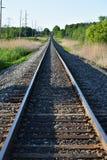 Trilhas rurais do trem fotos de stock royalty free