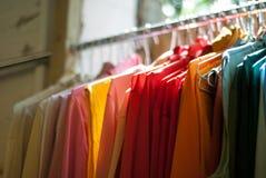 Trilho da roupa Imagem de Stock