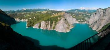 Trilho das montanhas Fotografia de Stock Royalty Free