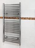 Trilho de toalha heated moderno Fotos de Stock