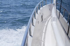 Trilho do barco Foto de Stock Royalty Free