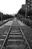 Trilho railway velho Foto de Stock Royalty Free