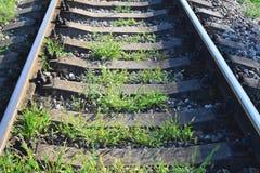Trilhos da estrada de ferro imagem de stock royalty free