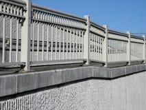 Trilhos do passeio no muro de cimento em Portland, Oregon Fotografia de Stock