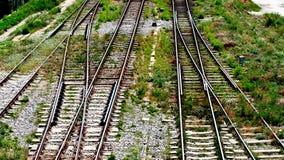 Trilhos do trem fotografia de stock royalty free