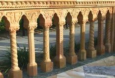 Trilhos mediterrâneos Imagens de Stock Royalty Free