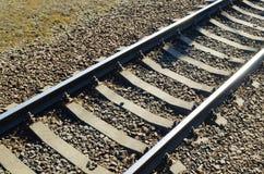 Trilhos na estrada de ferro Foto de Stock Royalty Free