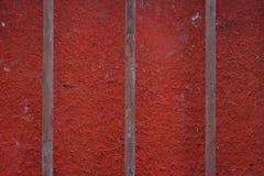 Trilhos oxidados do ferro Fotografia de Stock
