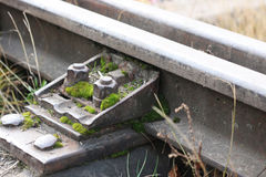 Trilhos Railway Fotografia de Stock Royalty Free