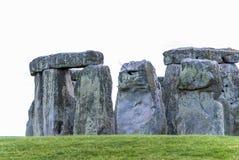 Trilithons di pietra massicci del sito del patrimonio mondiale di Stonehenge, Sali Immagine Stock