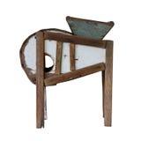 Trilladora de madera foto de archivo libre de regalías