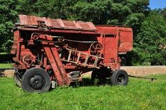 Trilladora roja Imagen de archivo