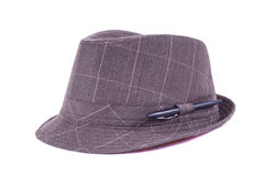 Trillby. A trillby style hat with pen Stock Image