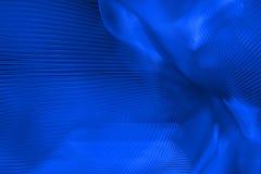 Trillende blauwe samenvatting Stock Foto