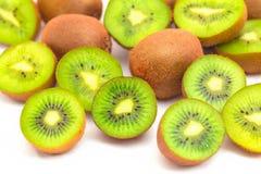 Trillende dichte omhooggaand van het kiwifruit Stock Afbeelding