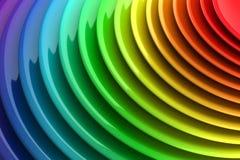 Trillende kleuren abstracte achtergrond Stock Afbeelding