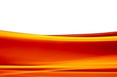 Trillende oranje achtergrond op wit Royalty-vrije Stock Fotografie