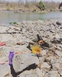 Trilli economici soltanto in natura naturale del fiume di modo del bbq del pollo dell'India Immagini Stock